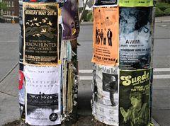 PP Jazzplakate in Sealttle USA