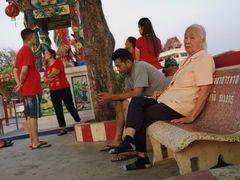 PP Morgens Personen Bank Thai P20-20-col chin Neujahr