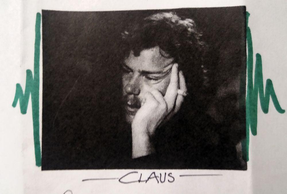 PP Repro CLAUS SW 1976 vonElke +Text Vergänglichkeit