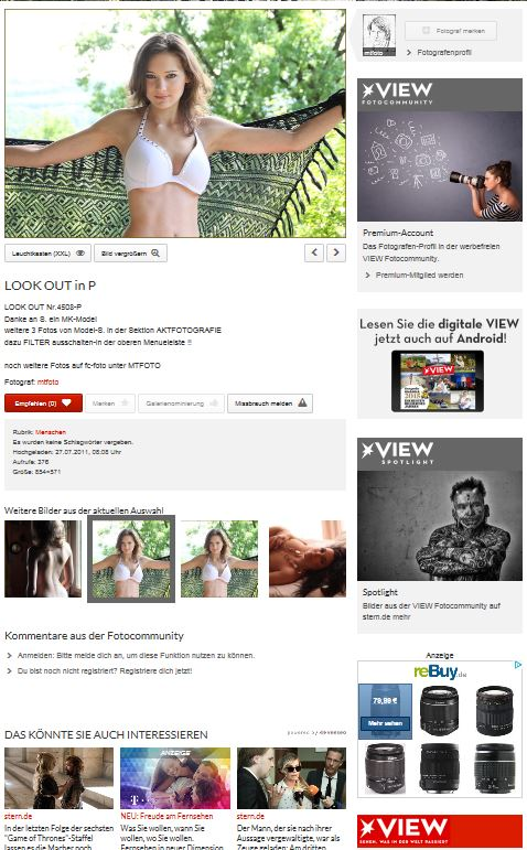 PP snip4malMT-Portraits auf VIEW/Stern snip