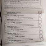 PP Stimmzettel DREIER-RENNEN Stgt p20-20-sw AKTUELL +3Fotos +Text