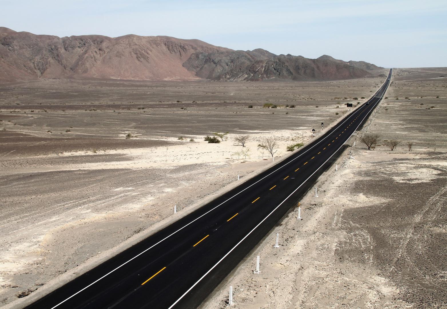 PP STRASSE Wüste Nasca Peru ca-9076-col