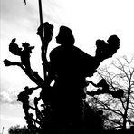PP street Schatten Skulptur Wü-p-21_24-col