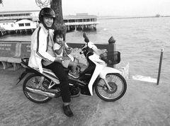 PP street Vater  Kind Thai P20-20-sw