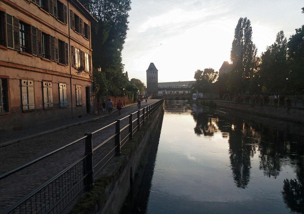 PP sunset am Kanal