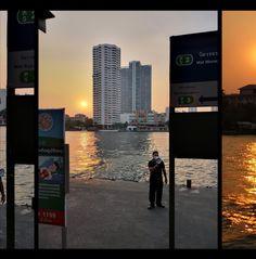 PP sunset Ansage; Hier Lang ! Bangkok P20-20-col