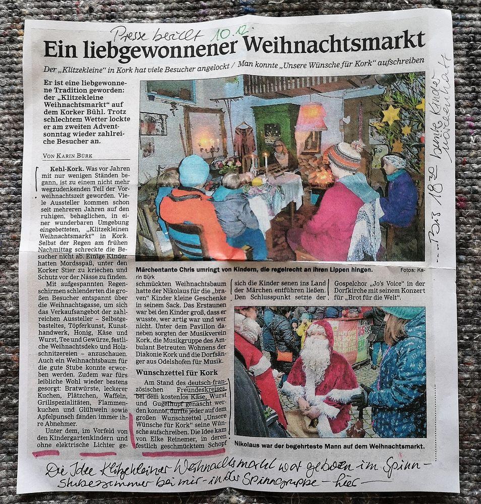 PP Text  Weihnachtsmarkt Kork 10-12-2019