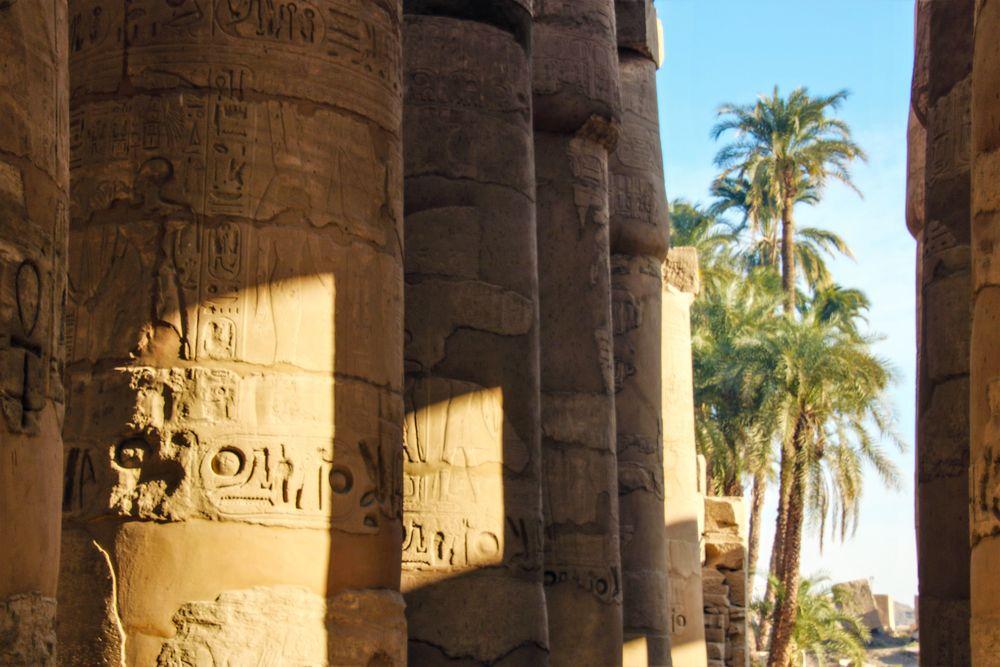 PP V5n Karnak Säulen Egypt Ca-20-68-cofx