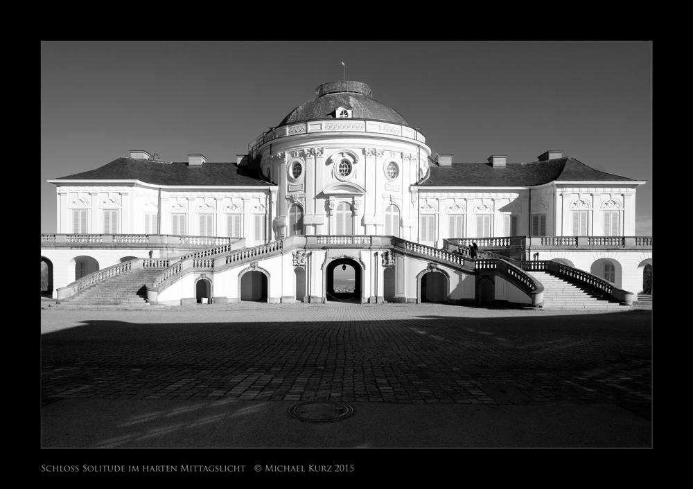 """""""Prachtbau"""" (Solitude im harten Mittagslicht) © Michael Kurz 2015"""