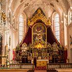 Prachtvoll der Altar