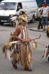 Prärieindianer in der Karibik