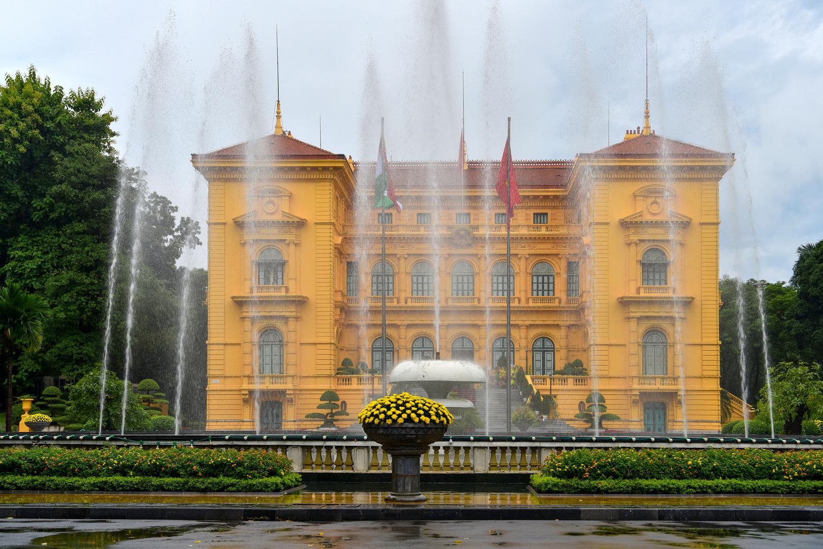 Präsidentenpalast Hanoi 01