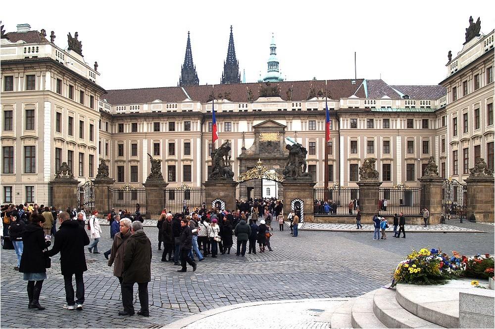 Präsidentensitz in Prag