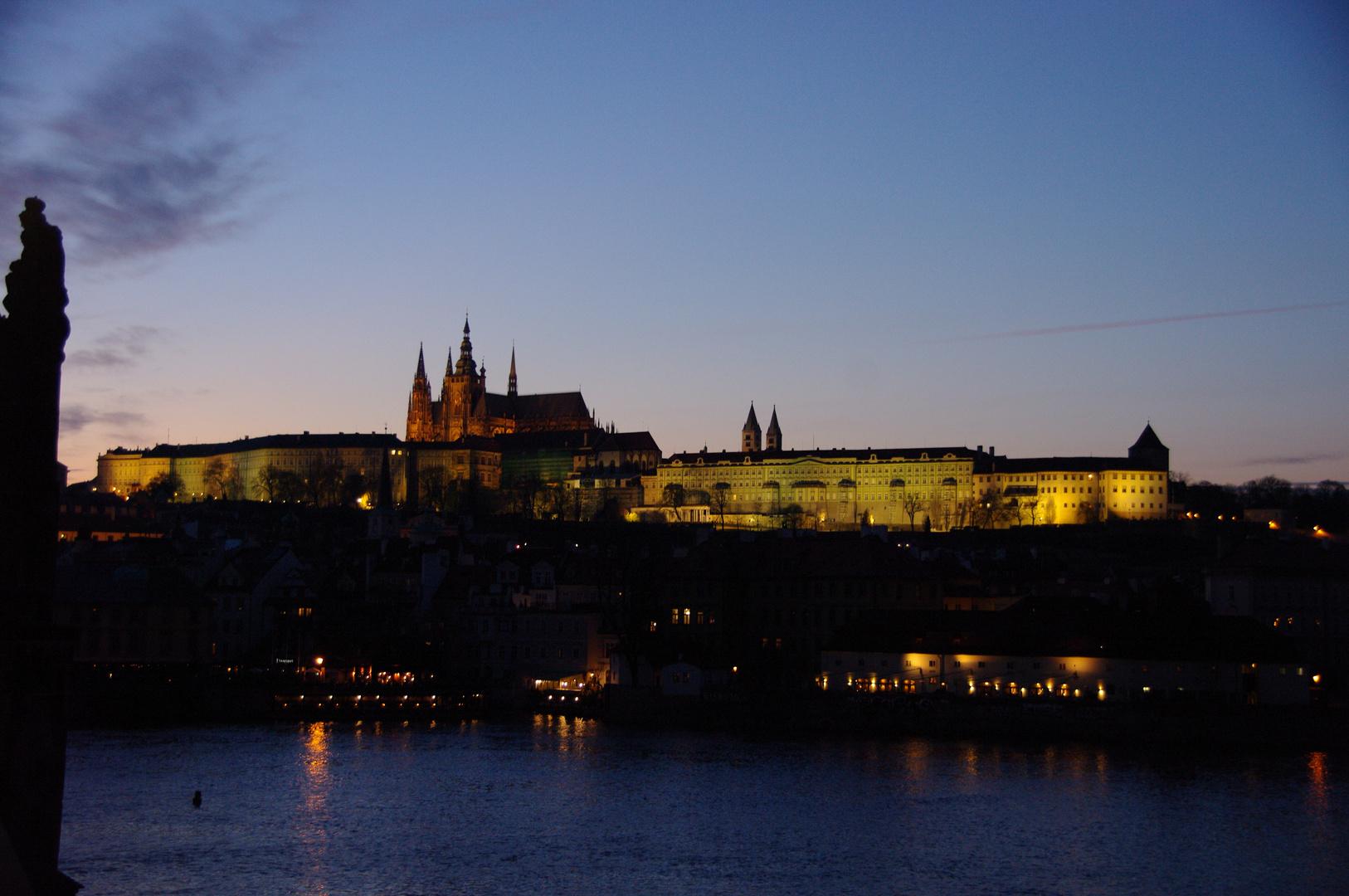 Prag 005 - Rundgang bei Anbruch der Nacht