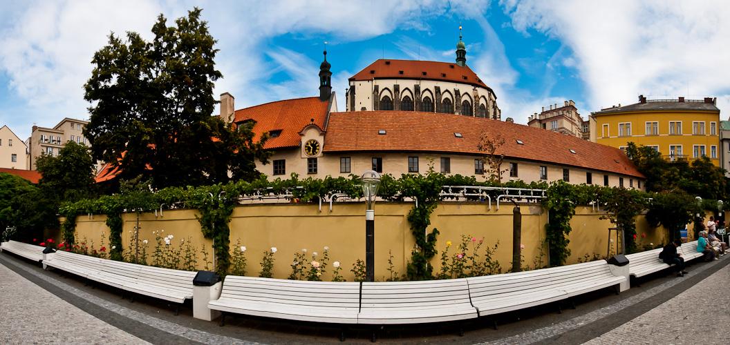 Prag... #008 - Kloster und Kirche St. Maria Schnee