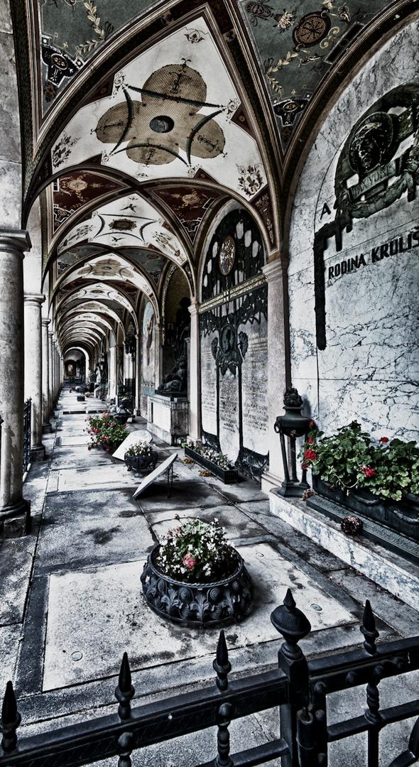 Prag... #063 - Vyšehrad, Ehrenfriedhof