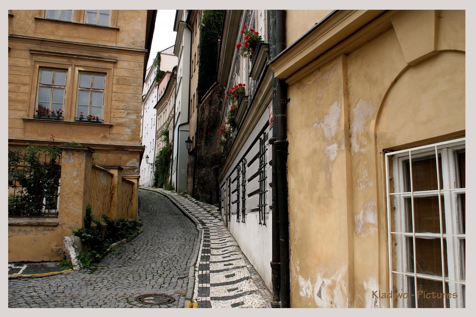 Prag 07 - Gasse -