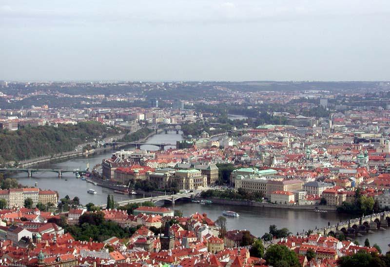 PRAG (2) , Blick vom Petin Tower
