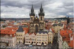 PRAG 8 - BLICK VOM RATHAUSTURM