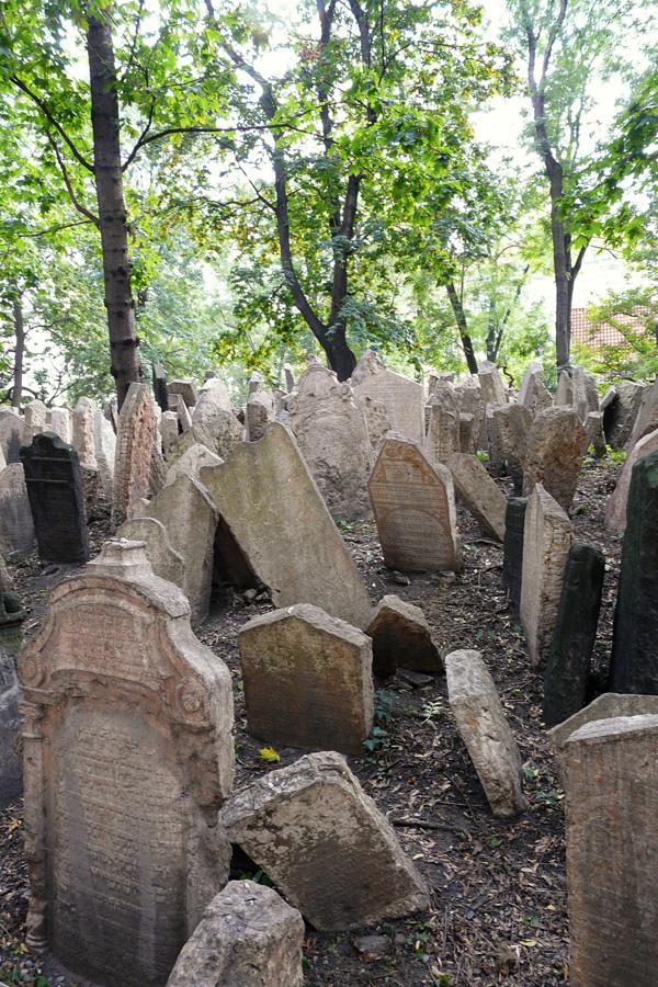 Prag - Alter Jüdischer Friedhof in der Josephstadt