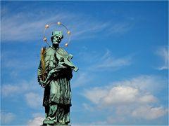 Prag - Ansichten einer Stadt / Karlsbrücke - Statue