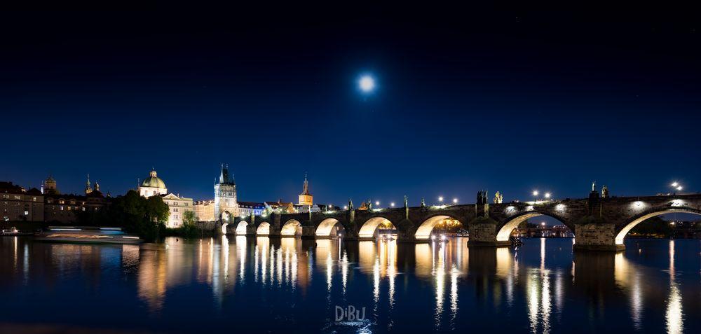 Prag bei Nacht 3