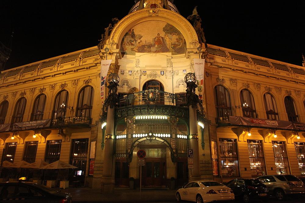 Prag bei Nacht / Praga de noche 5