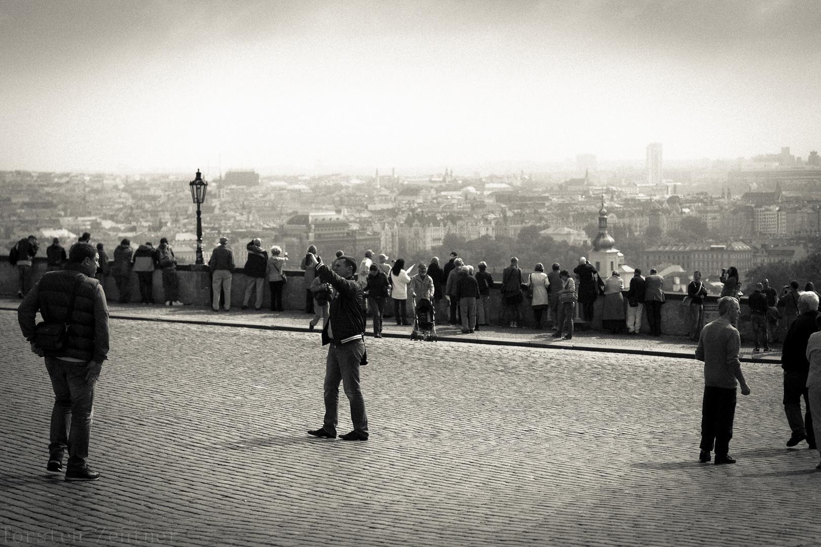 Prag, Blick auf die Stadt