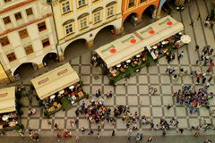Prag Blick vom Rathaus