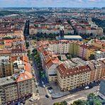 PRAG   - Blick vom Zizkov Televison Tower -