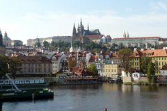 Prag - Burg - Hradschin - von der Karlsbrücke aus