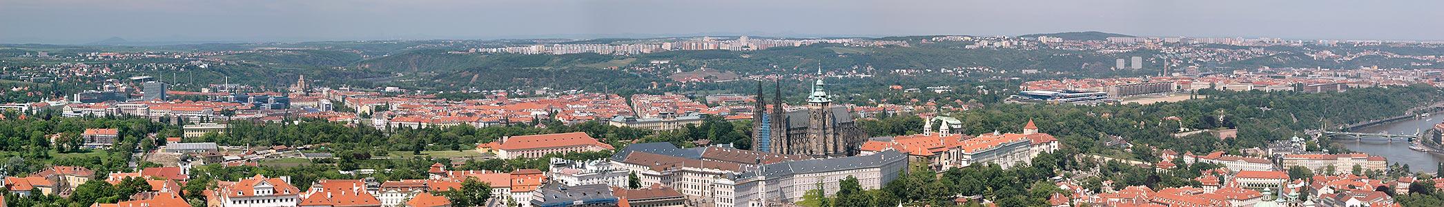 Prag: Burg und Umgebung