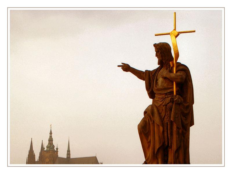 Prag - da ist er doch, der Dom...