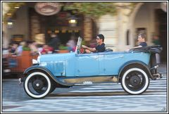 Prag, die Goldene Stadt 20, Touristen-Tour-Taxi