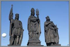 Prag, die Goldene Stadt 23, Karlsbrücke und deren Figuren