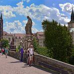 PRAG  - Die heilige Brücke - Karlsbrücke