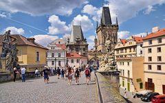 PRAG   - Karlsbrücke -