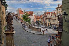 PRAG   -  Nerudova-Straße -
