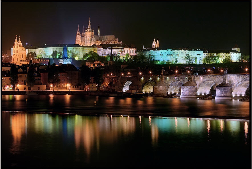 Prag - Schloss und Karlsbrücke