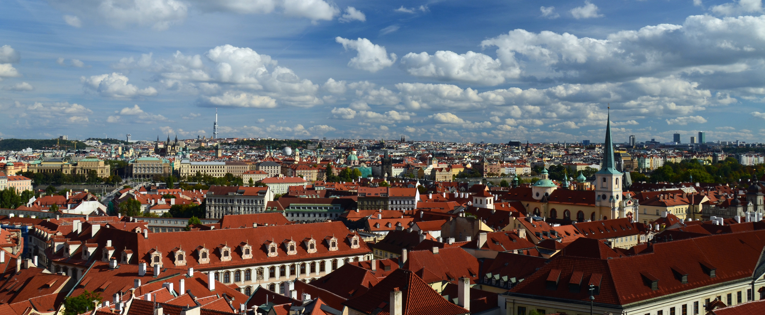 Prag von Palastgarten (Hradcany)