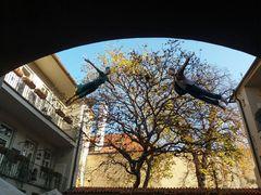 PRAG Zwei Figuren fliegen J5-18