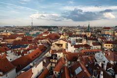 Praga dalla torre del municipio
