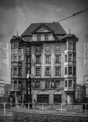 Praga en blanco y negro