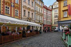 Prager Altstadt - schöne Fassaden -