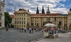 Prager Burg Szenen - 2020  -