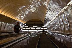 Prager U-Bahn-Rolltreppe
