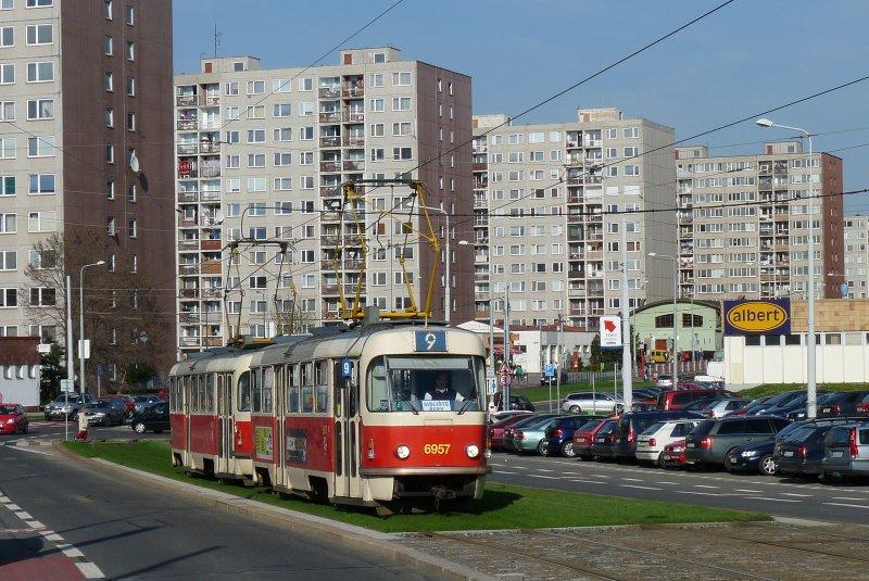 Prags letzter T3-Trakt