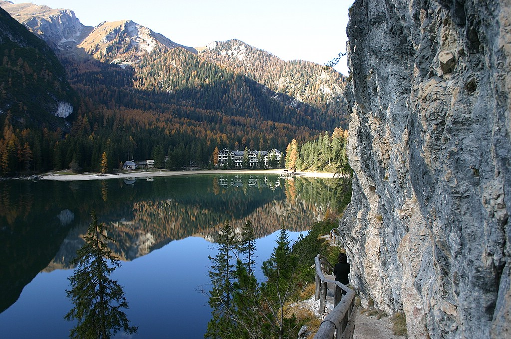 Pragser Wildsee Ende September