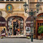 Prague   - Antikvariát U Zlaté císe, Nerudova 16 -