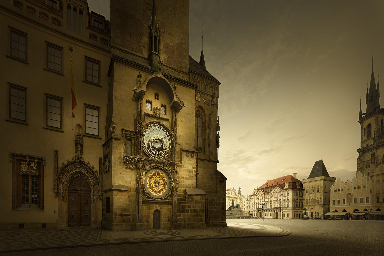 Prague Astronomical Clock. After Photoshop